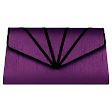 Buy Jacques Vert Overlay Clutch Bag, Byzantium Online at johnlewis.com