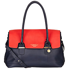 Buy Fiorelli Olivia Jade Flapover Shoulder Bag, Red Online at johnlewis.com