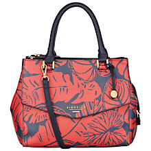 Buy Fiorelli Mia Grab Bag, Leaf Print Online at johnlewis.com