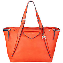 Buy Fiorelli Paloma Large Shoulder Bag, Red Online at johnlewis.com