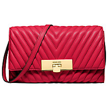 Buy MICHAEL Michael Kors Susannah Leather Clutch Bag Online at johnlewis.com