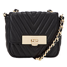 Buy MICHAEL Michael Kors Susannah Small Leather Messenger Bag Online at johnlewis.com