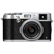 "Buy Fujifilm X100T Digital Camera, HD 1080p, 16.3MP, Dual Viewfinder, 3"" LCD Screen Online at johnlewis.com"