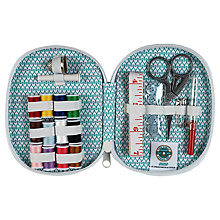 Buy The Great British Sewing Bee Zipped Sew Kit, Blue Online at johnlewis.com