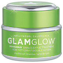 Buy Glamglow Power Mud Dual Cleanse Treatment, 50g Online at johnlewis.com