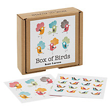 Buy Te Neues Box of Birds Note Cards, Set of 16 Online at johnlewis.com