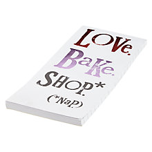 Buy Really Good Love Bake Shop Notebook Online at johnlewis.com