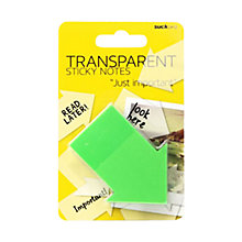 Buy Suck UK Transparent Sticky Notes, Arrow Online at johnlewis.com