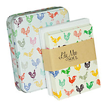 Buy Really Good Chicken Note Card Tin, Pack of 8 Online at johnlewis.com