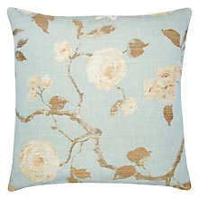 Buy John Lewis Linen Rose Cushion Online at johnlewis.com