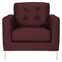 Buy John Lewis Odyssey PU Armchair Online at johnlewis.com