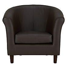 Buy John Lewis Juliet Leather Armchair Online at johnlewis.com