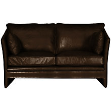 Buy Halo Harpo Small Aniline Leather Sofa Online at johnlewis.com