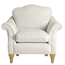 Buy John Lewis Kingsley Armchair, Amara Natural Online at johnlewis.com