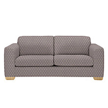 Buy John Lewis Felix Large Sofa, Dandy Cassis Online at johnlewis.com