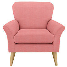 Buy John Lewis Carrie Armchair, Checkmate Coastal Red Online at johnlewis.com