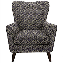 Buy John Lewis Thomas Armchair, Somerset Carbon Blue Online at johnlewis.com