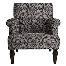 Buy John Lewis Kitty Armchair, Somerset Carbon Blue Online at johnlewis.com
