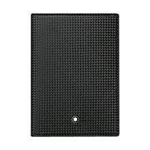Buy Montblanc Westside Extreme Leather Passport Holder, Black Online at johnlewis.com