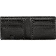 Buy Montblanc Westside Extreme 8 Card Leather Wallet, Black Online at johnlewis.com