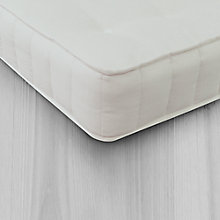 Buy little home Pure Children's Mattress, Single Online at johnlewis.com