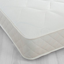Buy little home at John Lewis 15cm Deep Open Children's Mattress, Single Online at johnlewis.com