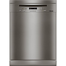 Buy Miele G6410 SC Freestanding Dishwasher, Clean Steel Online at johnlewis.com