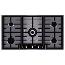Buy Neff T29R66N1 Gas Hob, Stainless Steel Online at johnlewis.com