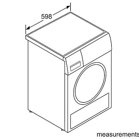 Buy Bosch WTB84200GB Sensor Condenser Tumble Dryer, 8kg