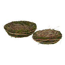 Buy John Lewis Moss Baskets, Set of 2 Online at johnlewis.com