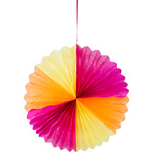 Buy Talking Tables Giant Paper Fan Online at johnlewis.com