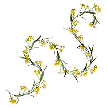 Buy John Lewis Daffodil Garland, 1.4m Online at johnlewis.com