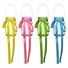 Buy John Lewis Ribbon Tealight Holder Online at johnlewis.com