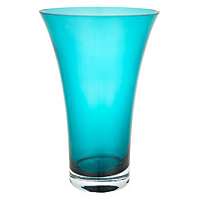 Buy John Lewis Flora Glass Vase, H26cm Online at johnlewis.com