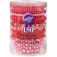 Buy Wilton Valentine's Baking Cups, Pack of 150, Multi Online at johnlewis.com