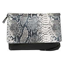 Buy Mango Flap Cross Body Bag, Black Online at johnlewis.com