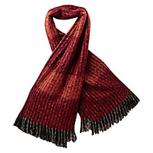Buy East Brushed Bohemia Scarf, Rust Online at johnlewis.com