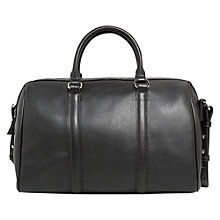 Buy Mango Zip Detail Tote Bag, Black Online at johnlewis.com