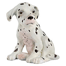 Buy Papo Figurines: Sitting Dalmatian Puppy Online at johnlewis.com