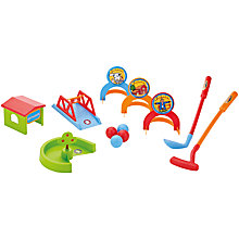 Buy John Lewis Children's Crazy Golf Set Online at johnlewis.com