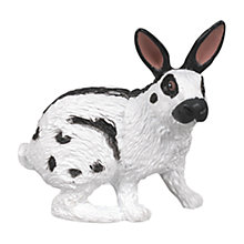 Buy Papo Figurines: Papillon Rabbit Online at johnlewis.com