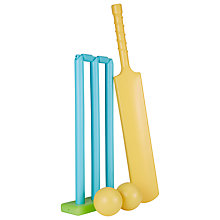 Buy John Lewis Children's Bat, Wicket & Ball Cricket Set Online at johnlewis.com