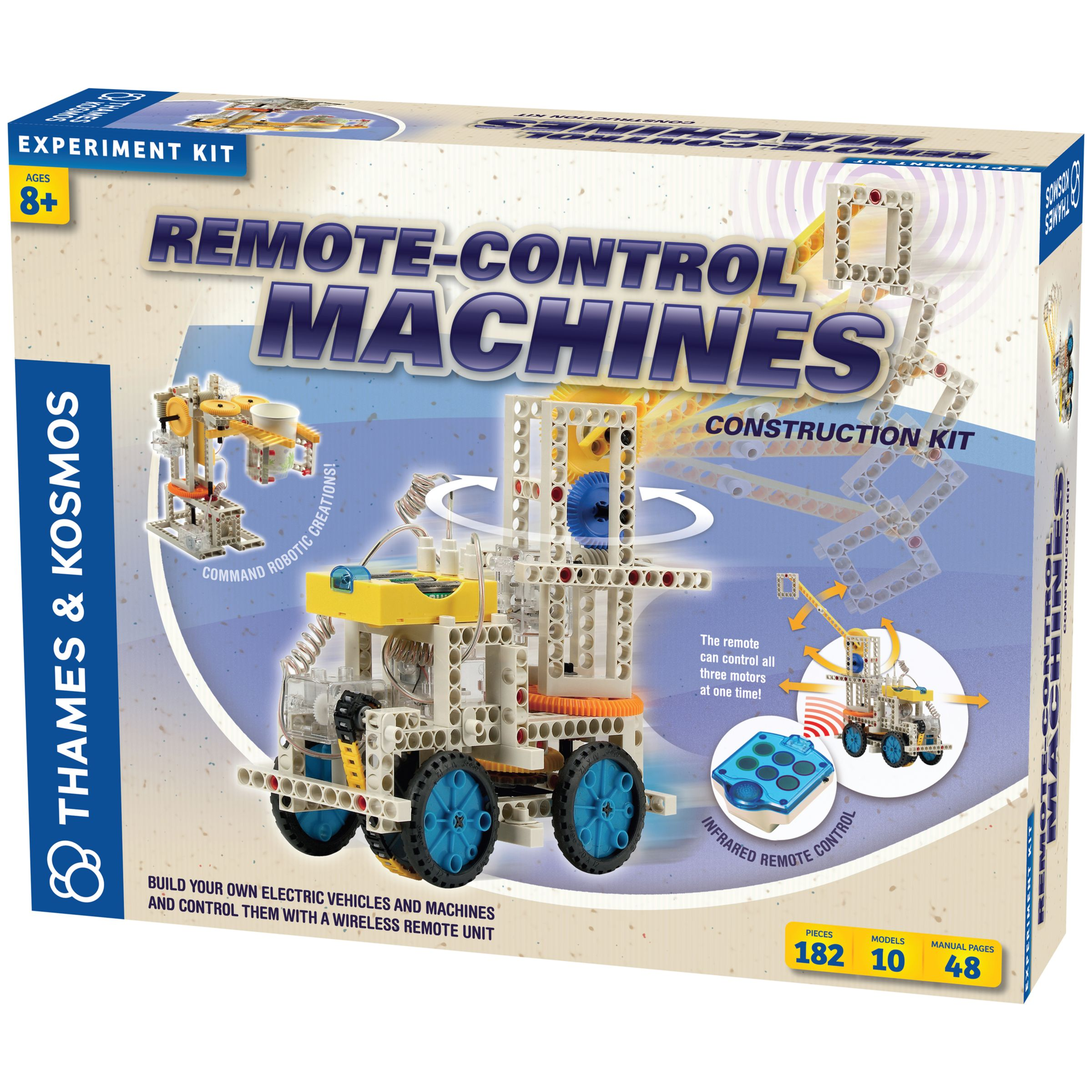 Thames & Kosmos Thames & Kosmos Remote Control Machines Construction Kit