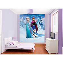 Buy Disney Frozen Designer Wallpaper Mural Online at johnlewis.com