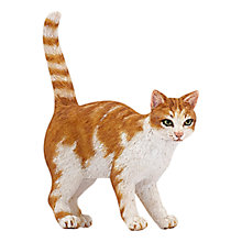 Buy Papo Figurines: Tabby Cat Online at johnlewis.com