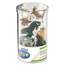 Buy Papo Figurines Mini Tub: Farm Animals Online at johnlewis.com