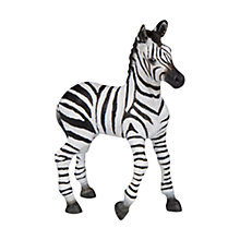 Buy Papo Figurines: Zebra Foal Online at johnlewis.com
