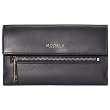 Buy Modalu Erin Leather Flap Over Matinee Purse Online at johnlewis.com