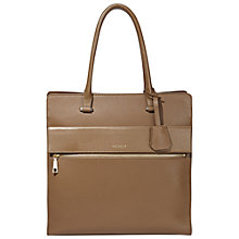 Buy Modalu Erin Large Leather North South Shoulder Bag, Moss Online at johnlewis.com