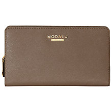 Buy Modalu Belle Zip Around Leather Purse Online at johnlewis.com